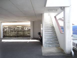 外部階段(南)